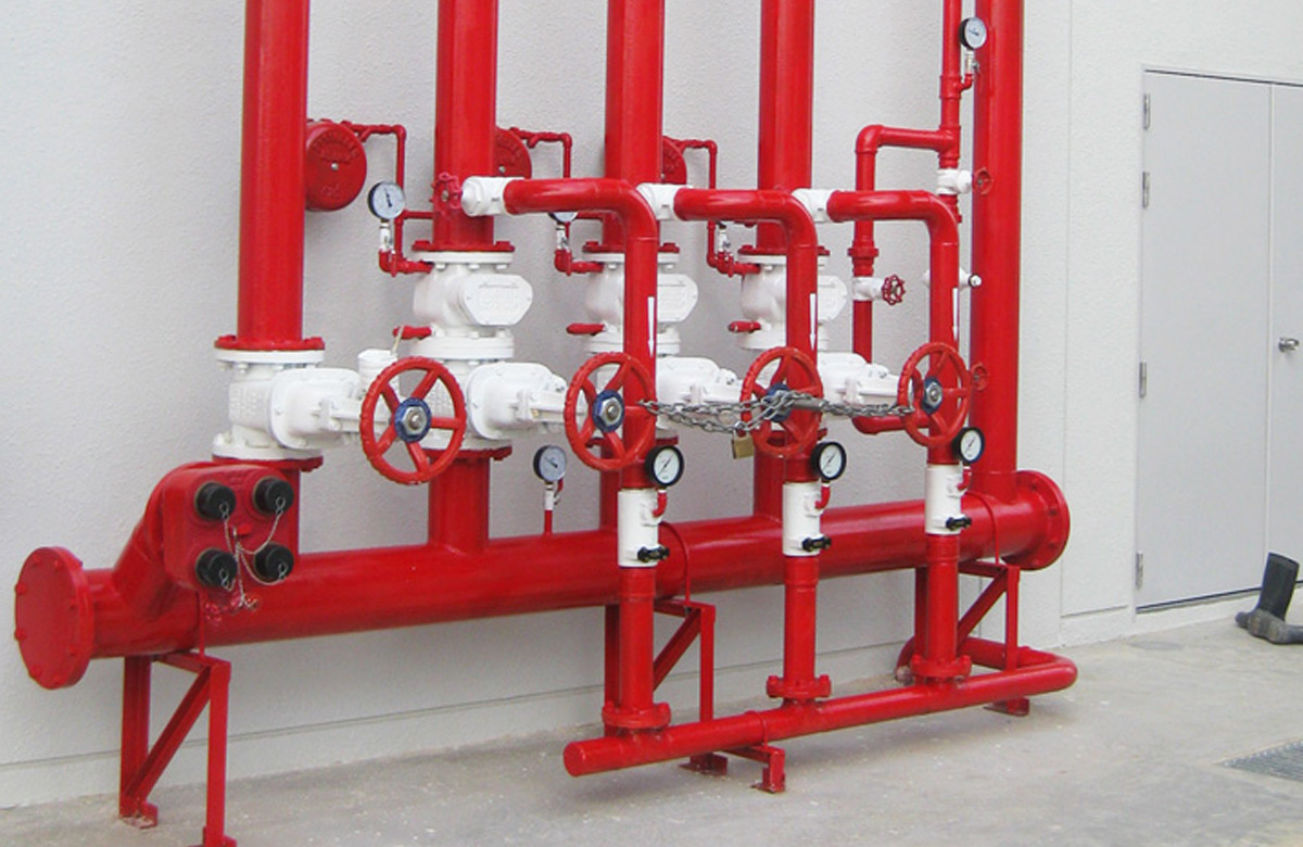 Fire Sprinkler Header